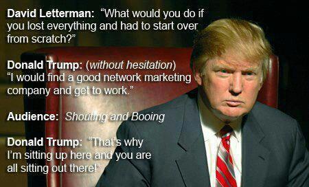 DonaldTrump-NetworkMarketing